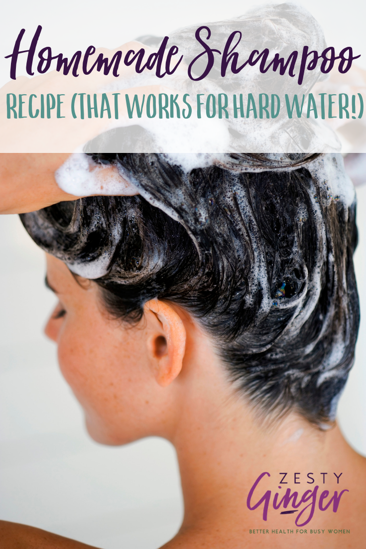 While soapnut shampoo will still be near and dear to my heart, this recipe is great for people who are dipping their toes into the homemade-shampoo -world.
