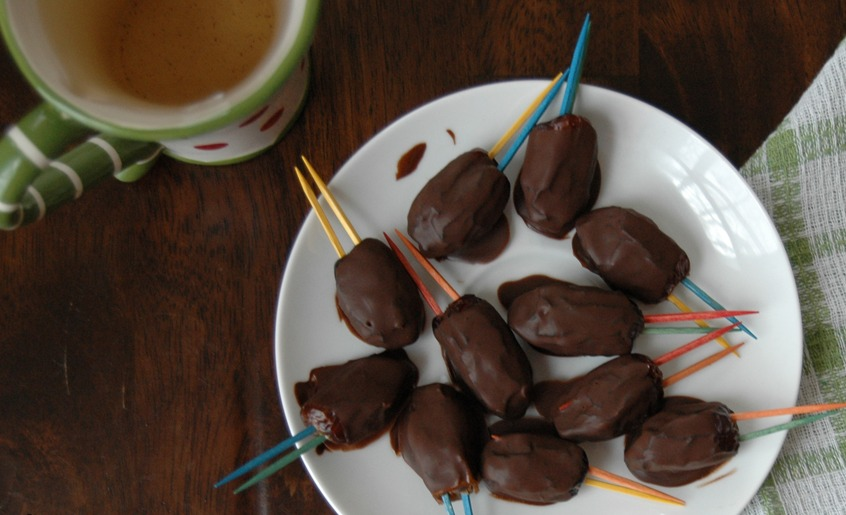 Paleo Chocolate Covered Dates