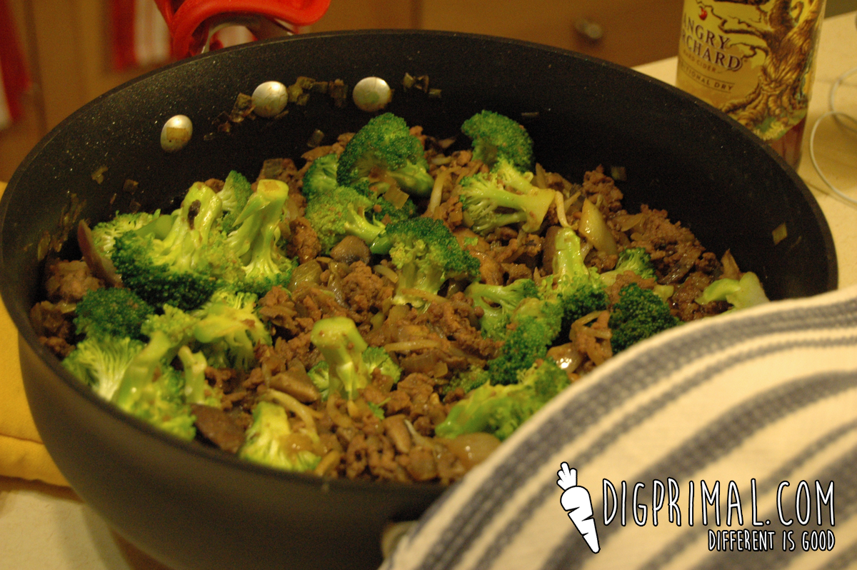 Paleo Beef and Broccoli with Veggie Explosion