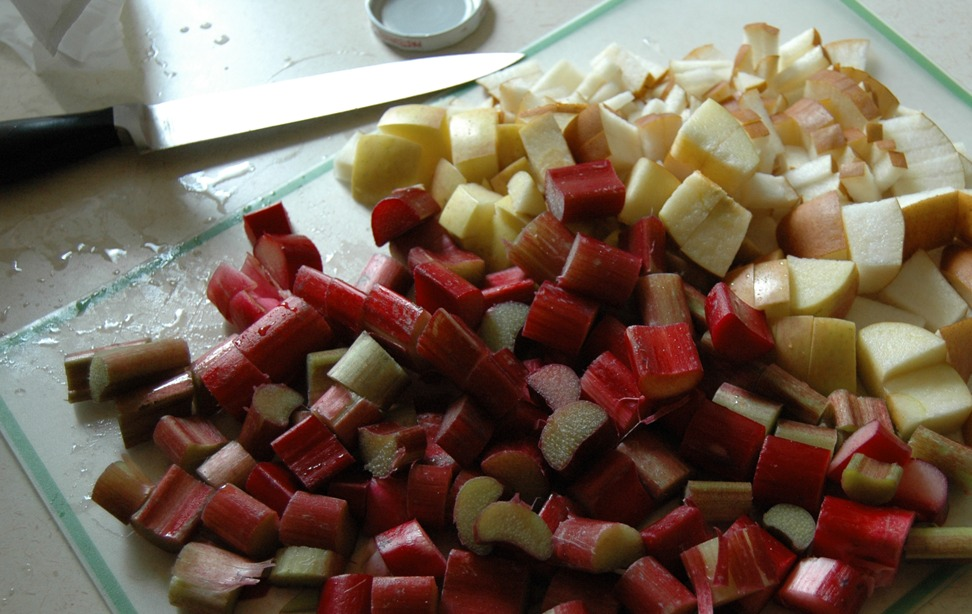 A Delicious Drink: Rhubarb Compote