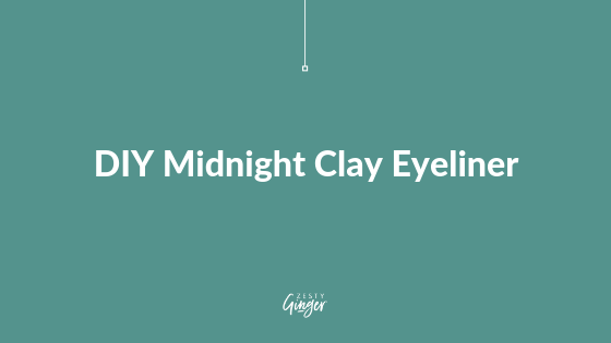 DIY Midnight Clay Eyeliner