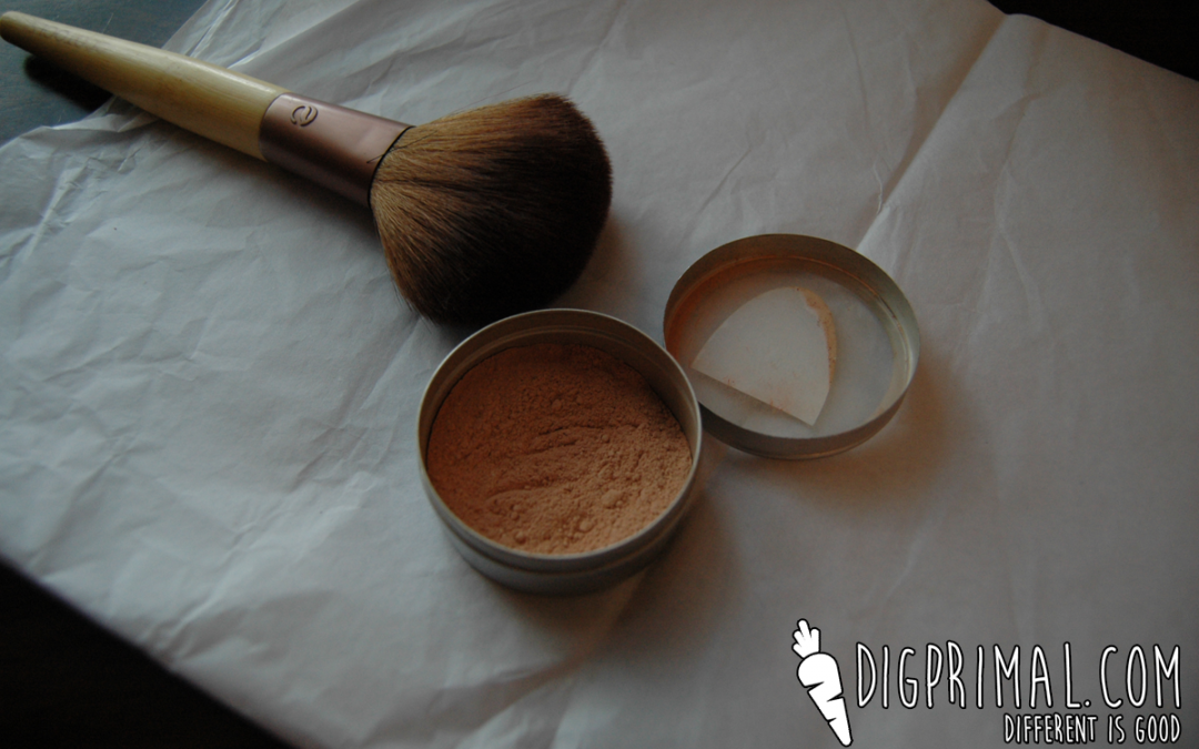 how to make airbrush makeup from mineral powder