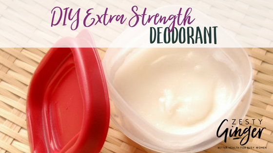 DIY Extra Strength Deodorant