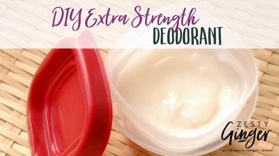 DIY Extra Strength Deodorant