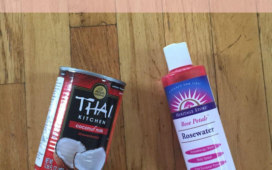 Scalp Revitalizing Rose Coconut Hair Milk