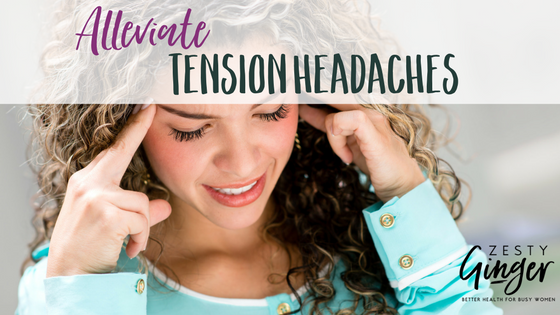 Natural tension headache relief