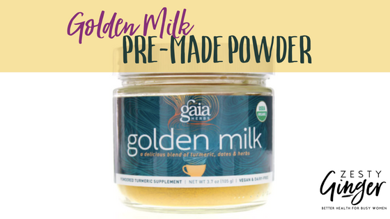 Golden Milk Pre-made Powder