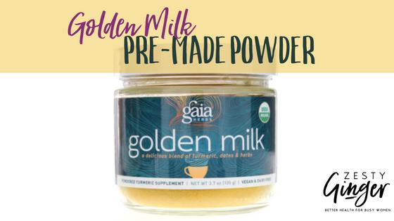 Golden Milk Pre-made Powder