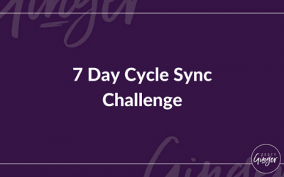 7 Day Cycle Sync Challenge