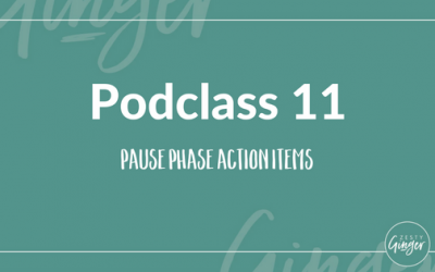 Podclass 11: Pause Phase Action Items