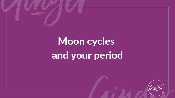 Moon cycles and your period