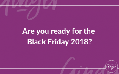 Are you ready for the Black Friday 2018?