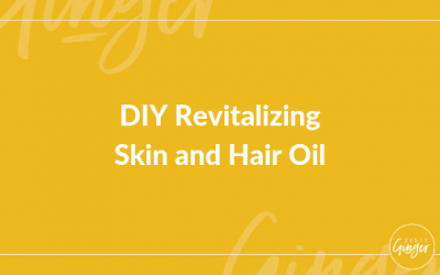 DIY Revitalizing Skin and Hair Oil